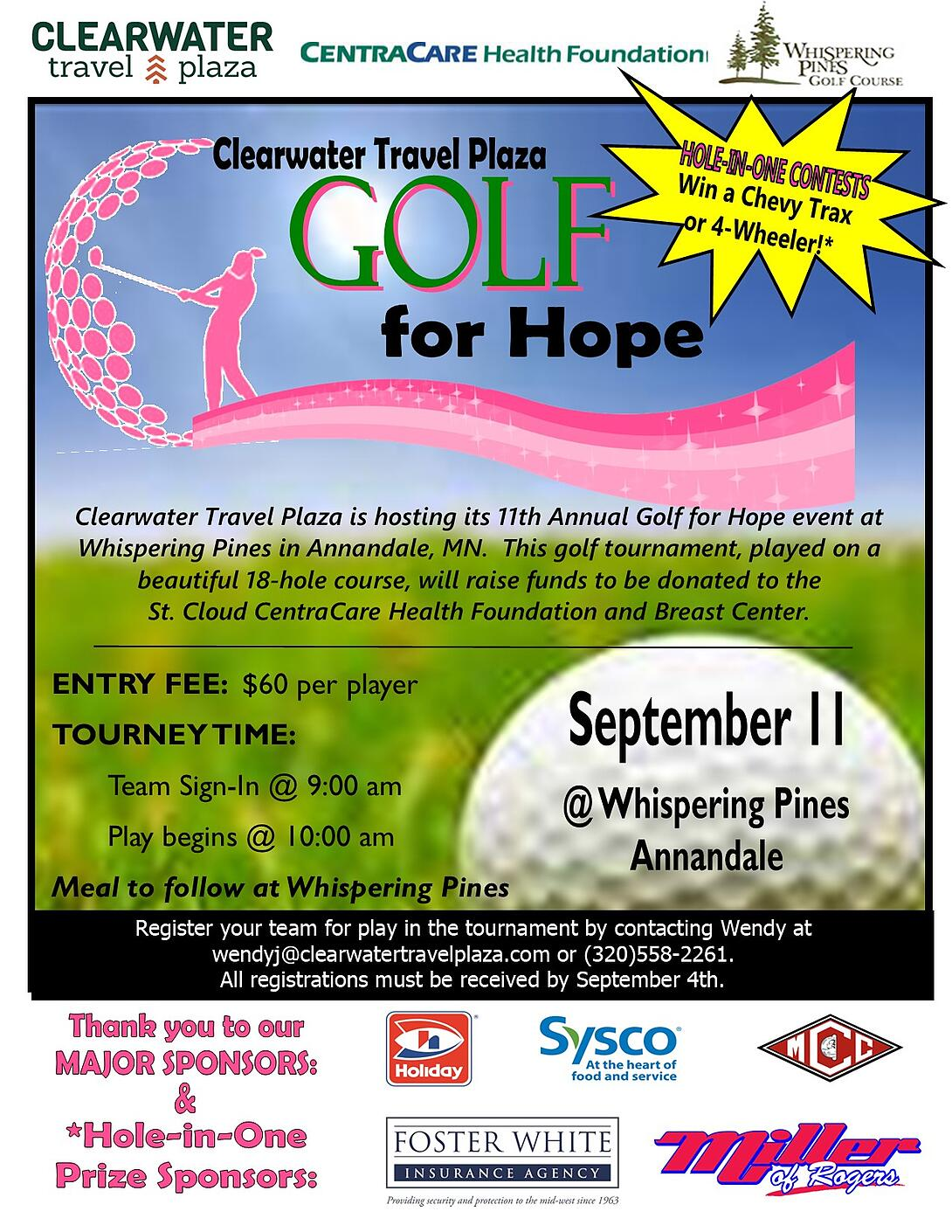 2020 Golf For Hope Flyer with starburst-1