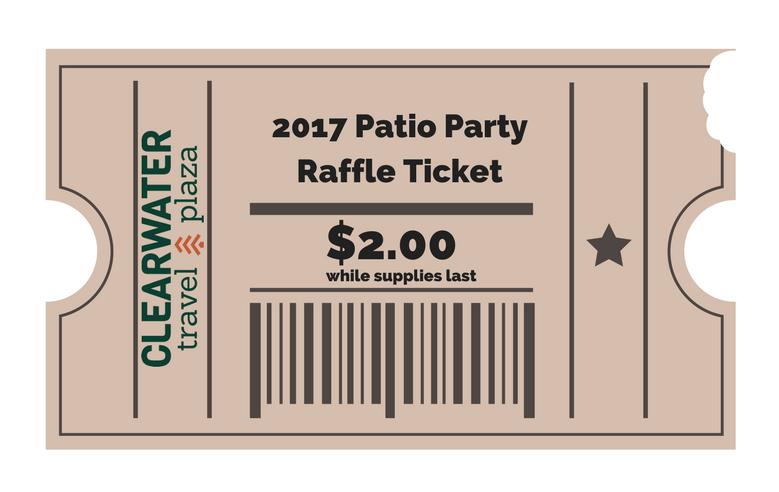CWTP - 2017 Patio Party Raffle Ticket