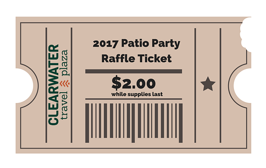 CWTP - 2017 Patio Party Raffle Ticket