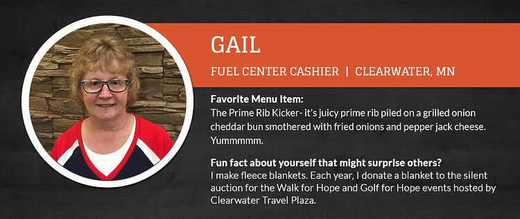 Clearwater Travel Plaza Staff Series Featuring Gail