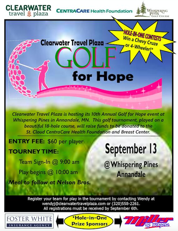 Golf for Hope 2019